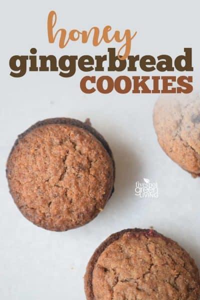 honey gingerbread cookies