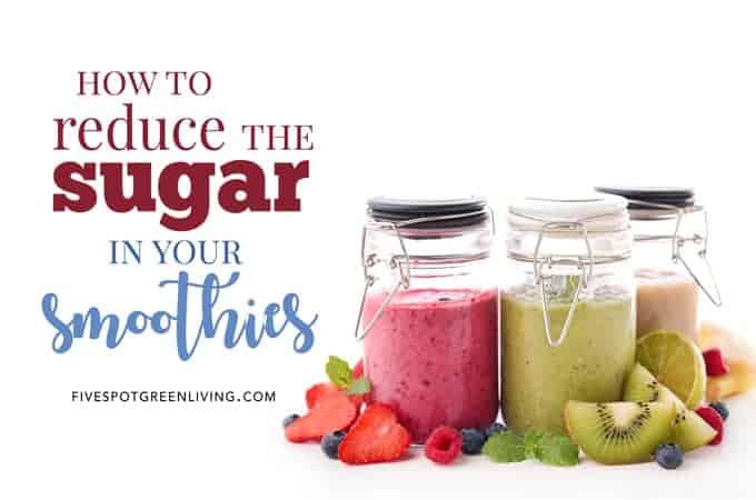 low sugar smoothies