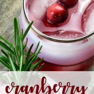 cranberry spritzer recipe