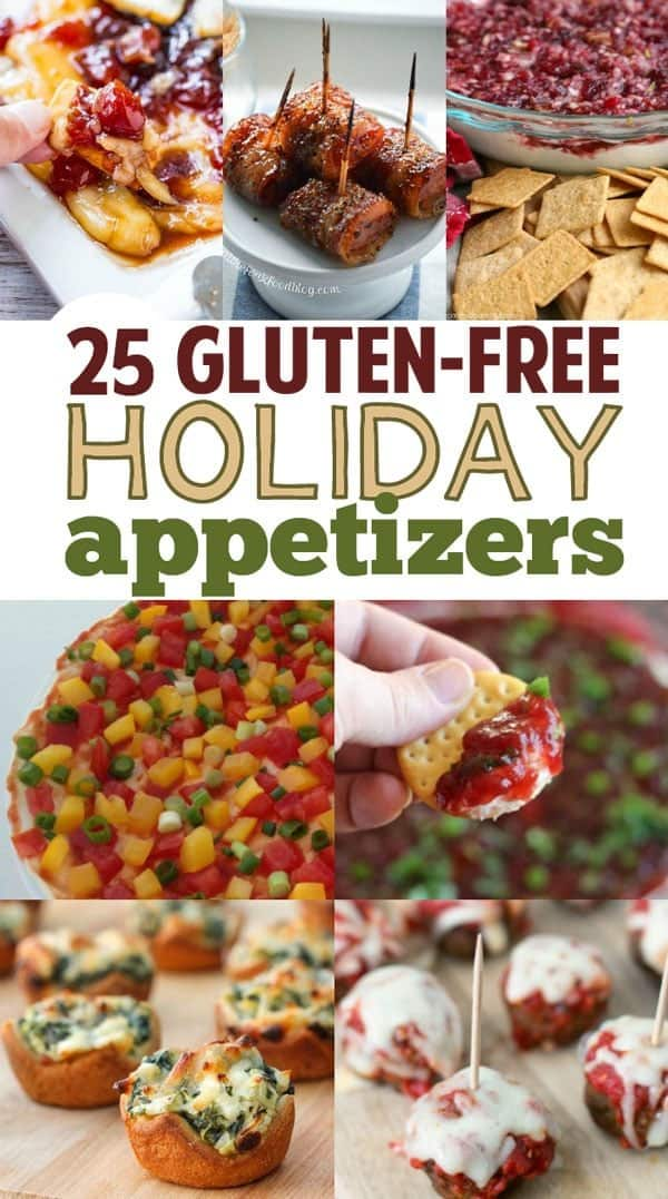 holiday gluten free healthy appetizers