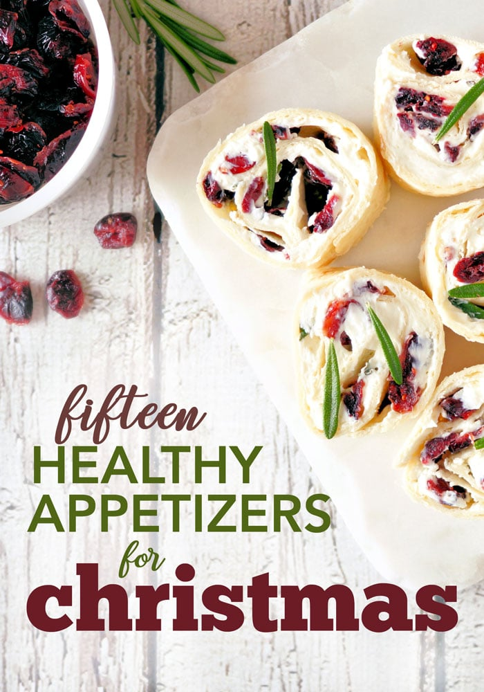 15 healthy appetizers for christmas
