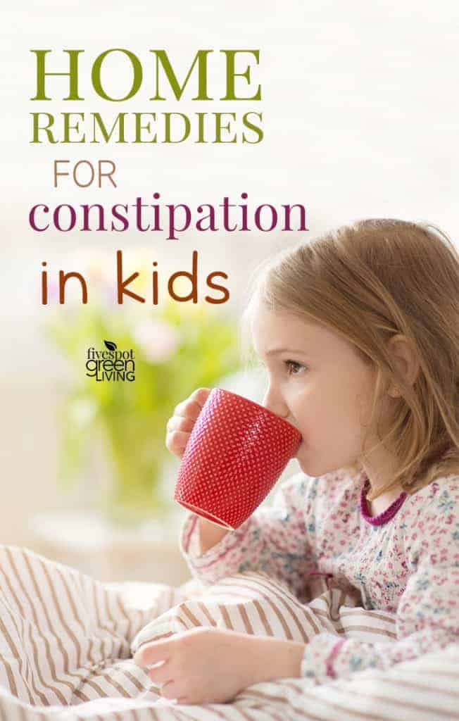 indian home remedies for constipation in kids