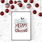farmhouse christmas printable