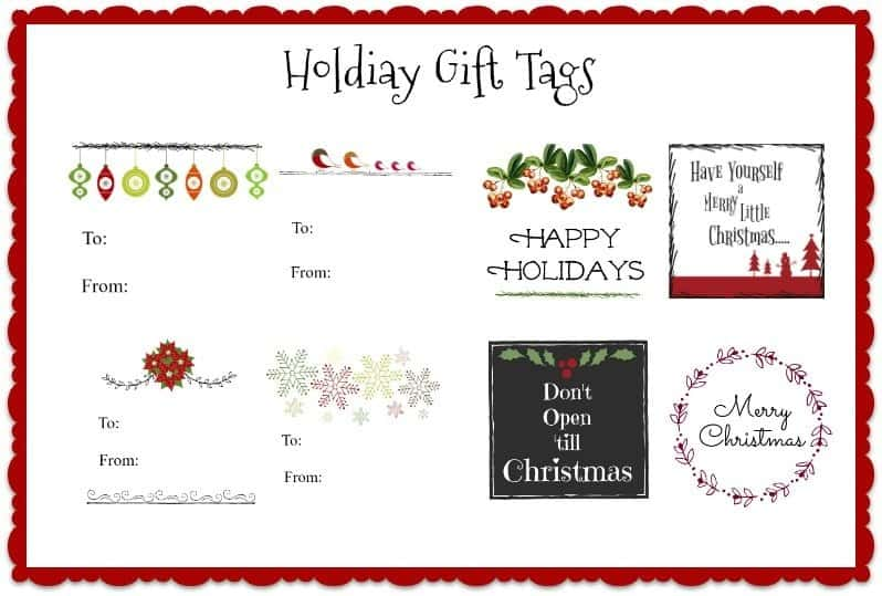 holiday-gift-tags Over 40 Free Printable Christmas Gift Tags