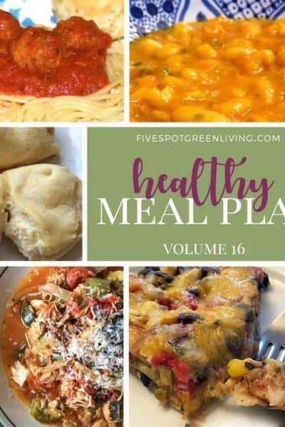 real food meal plan volume 1