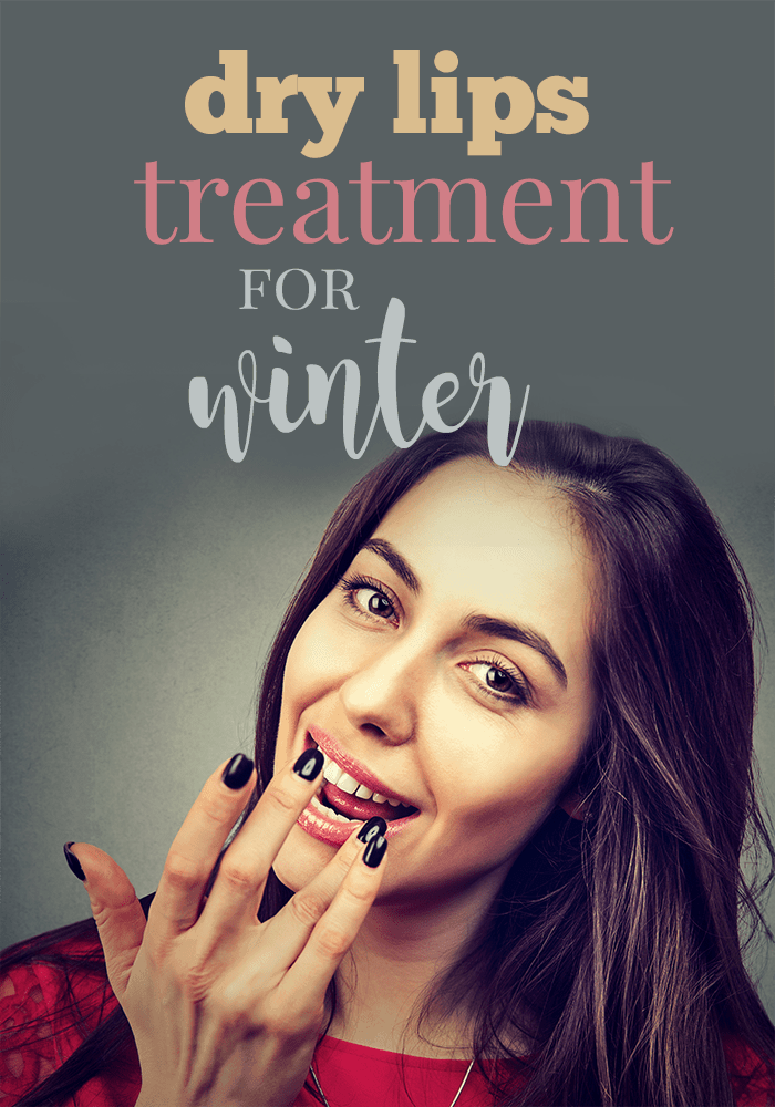 Dry Lips Treatment for Winter Weather