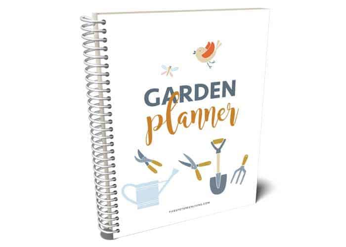 garden planner spiral book