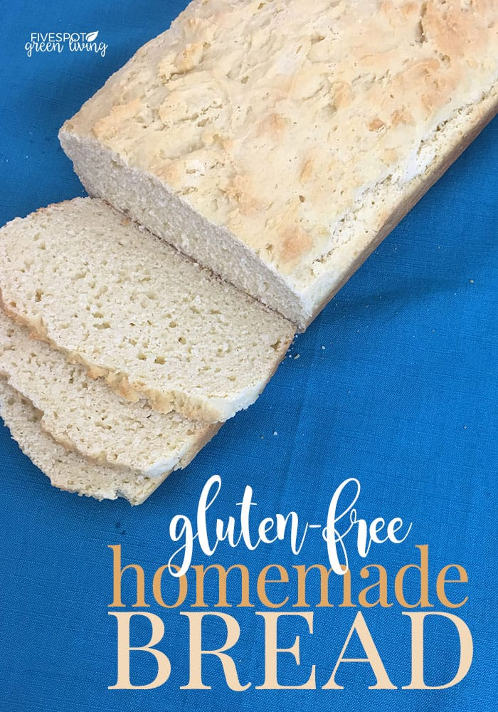 gluten-free homemade bread
