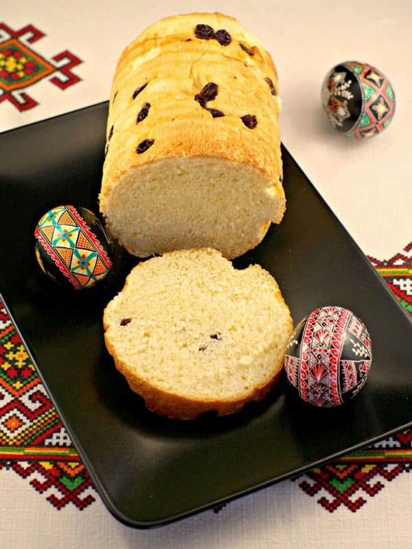 Ukranian Easter Babka Homemade Bread