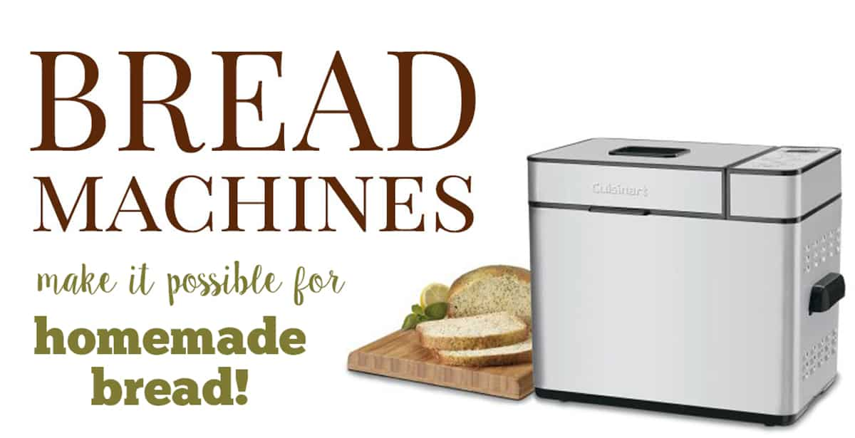 best homemade bread machines