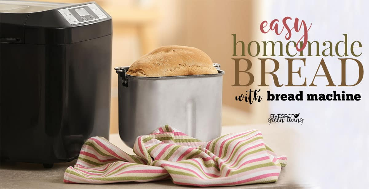 bread machine with fresh bread