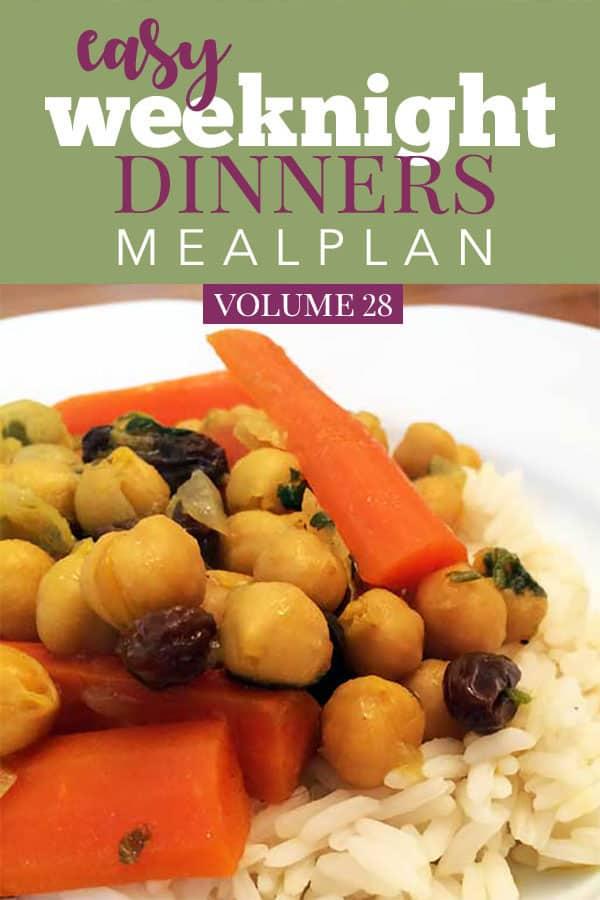 Easy Weeknight Dinners Volume 28