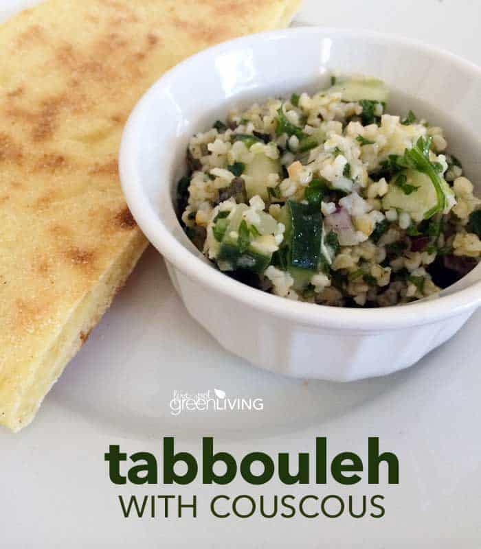 tabbouleh recipe with couscous appetizer