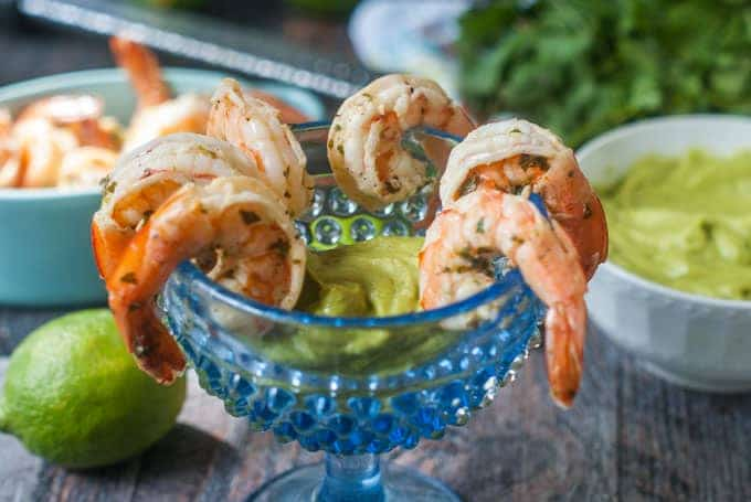 cilantro-lime-shrimp-cocktail-low-carb-f3 Memorial Day Healthy Appetizers
