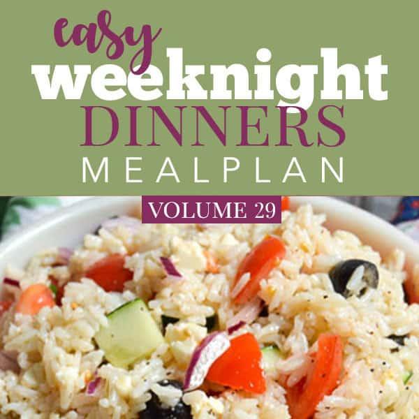 Easy Weeknight Dinners Volume 29