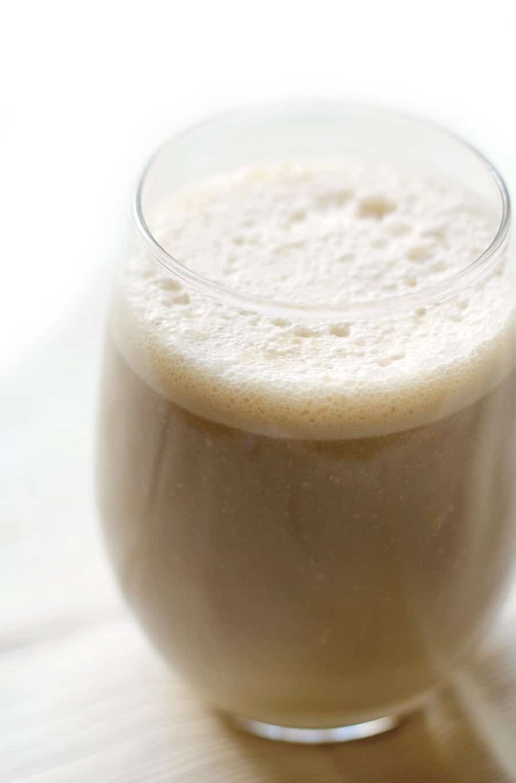 vegan coffee breakfast shake