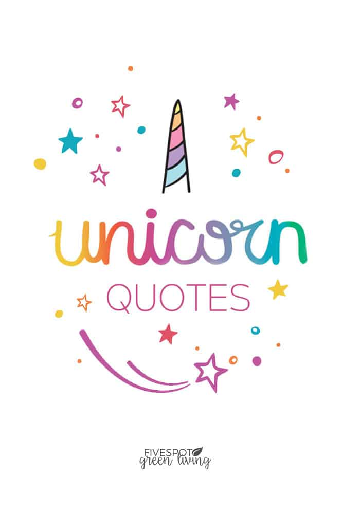 printable unicorn quotes