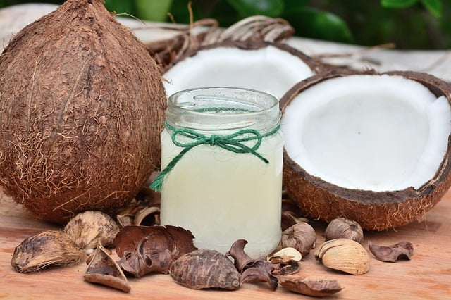 coconut oil for natural sunscreen