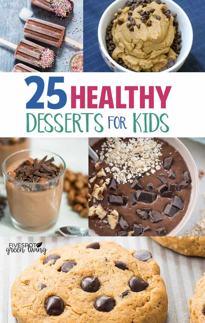 healthy desserts kids will love
