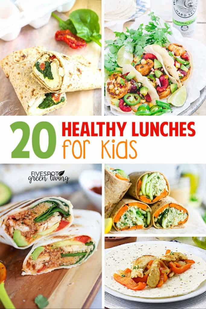 20 healthy lunch ideas kids can take to school