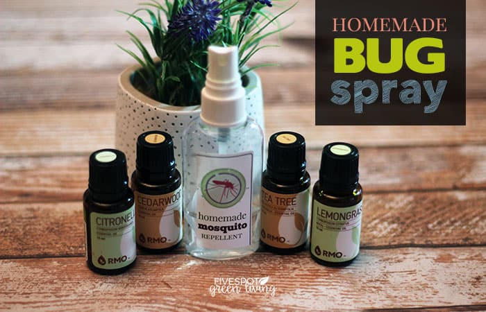 homemade bug spray with rocky mountain oils