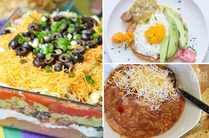recipes with refried beans
