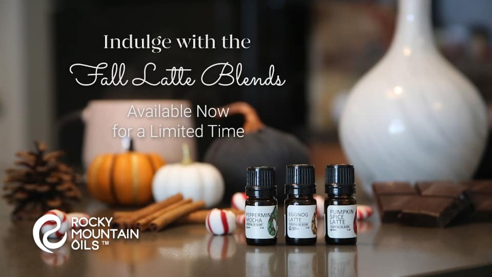 fall latte blends rocky mountain oils