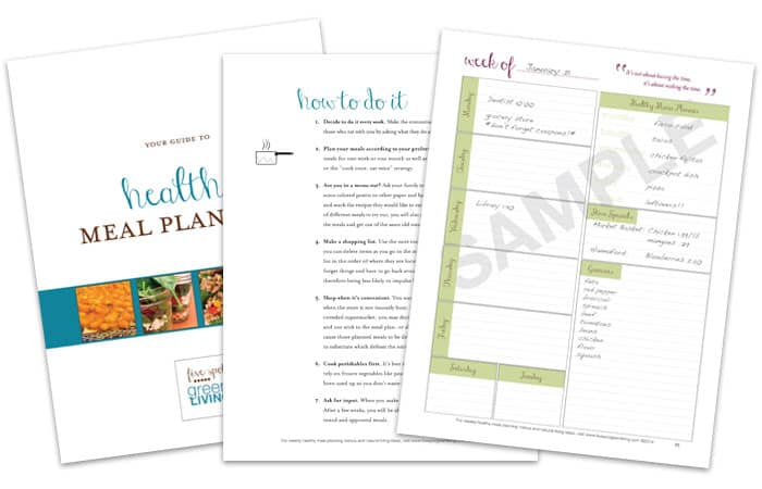 healthy meal planning guide