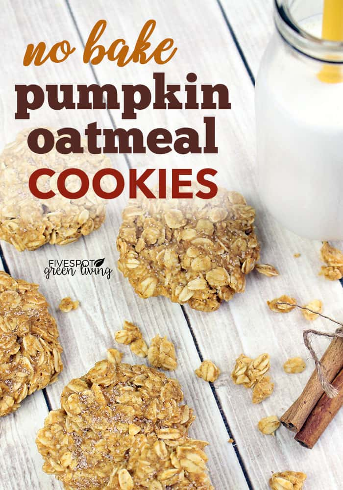 Easy no bake pumpkin cookies