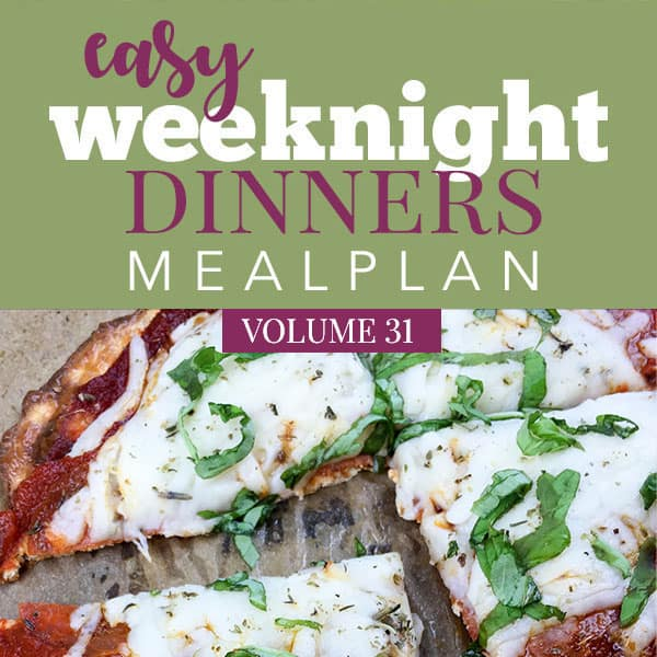 Easy Weeknight Dinners Volume 31