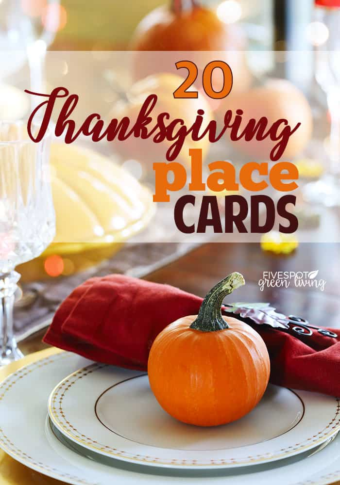 blog-thanksgiving-place-cards-PIN 20 Fun Festive Thanksgiving Place Cards