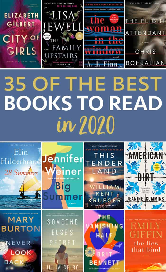 35 of the Best Books to Read in 2020