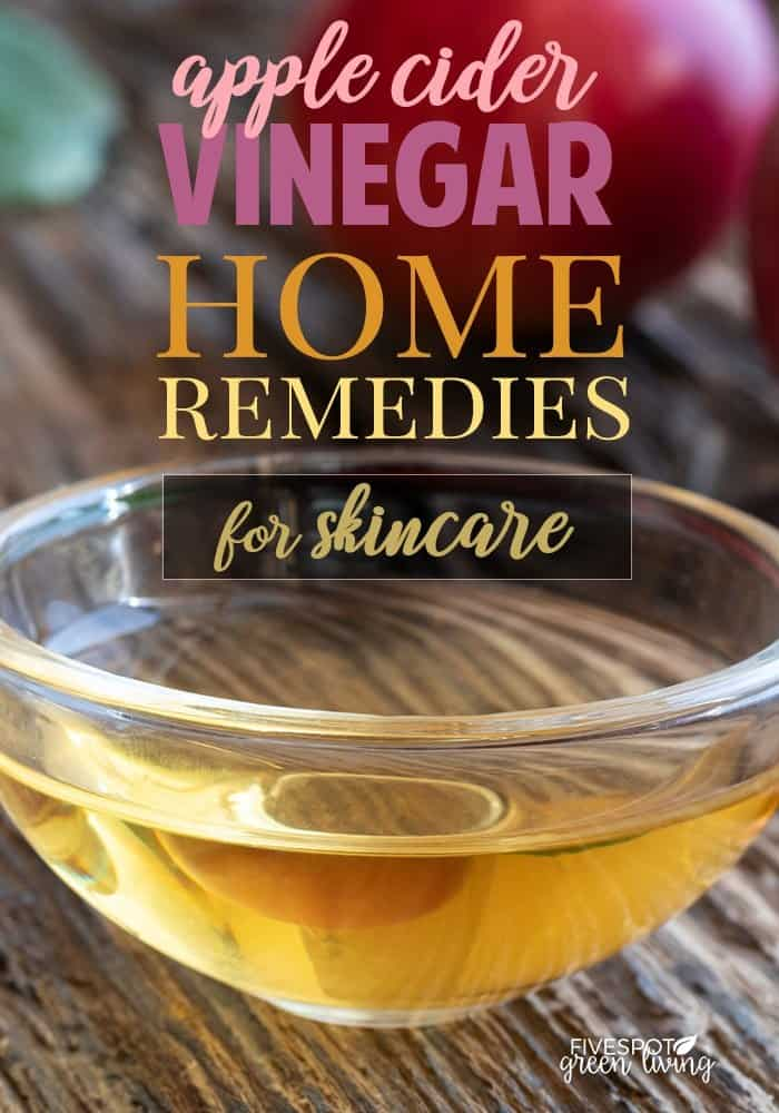 apple cider vinegar home remedies for skincare