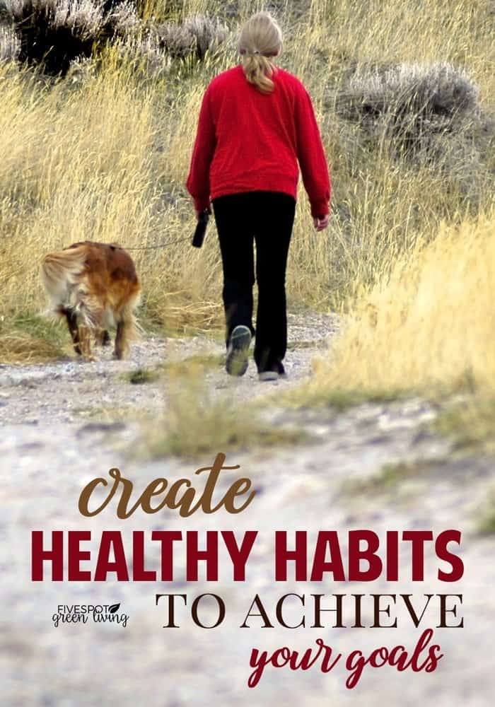 create healthy habits to achieve your goals