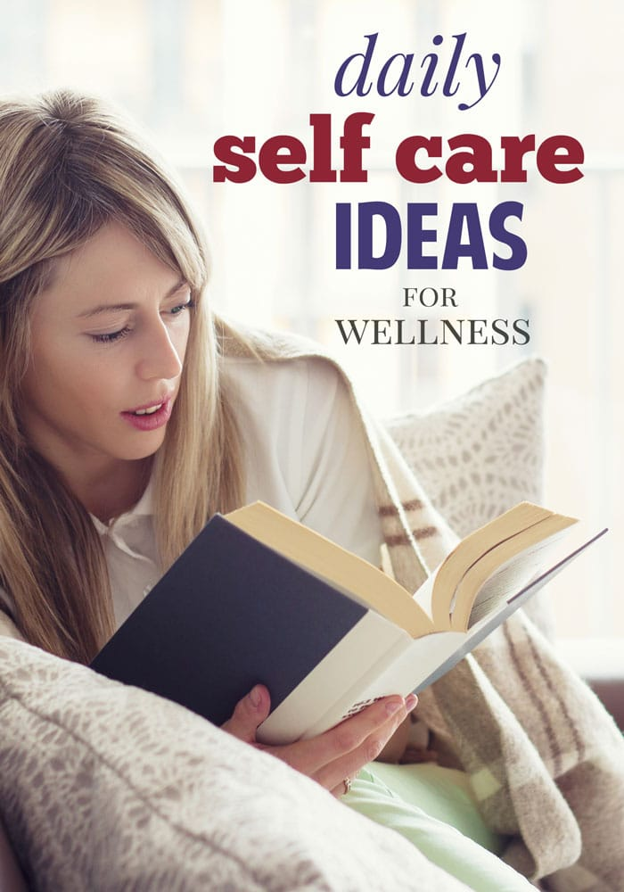 daily self care ideas to be a healthier you