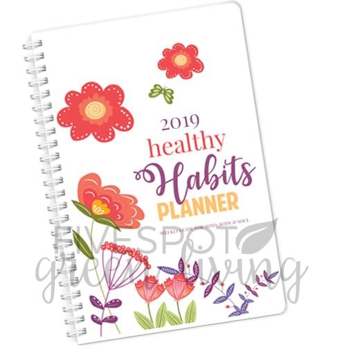 2019 self care planner