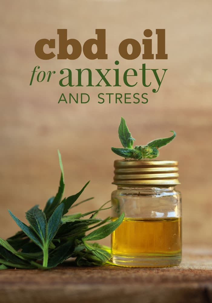 using cbd oil for anxiety and stress