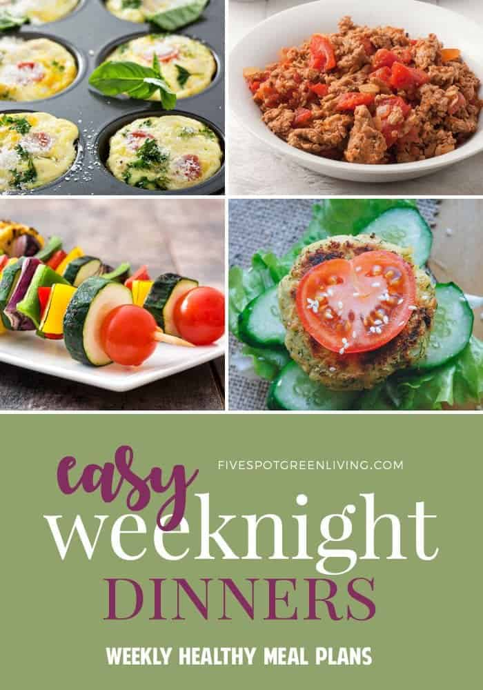 easy weeknight dinners for busy families