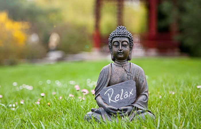 self care buddha relax