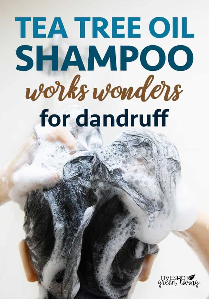 The best tea tree oil shampoo works wonders for dandruff