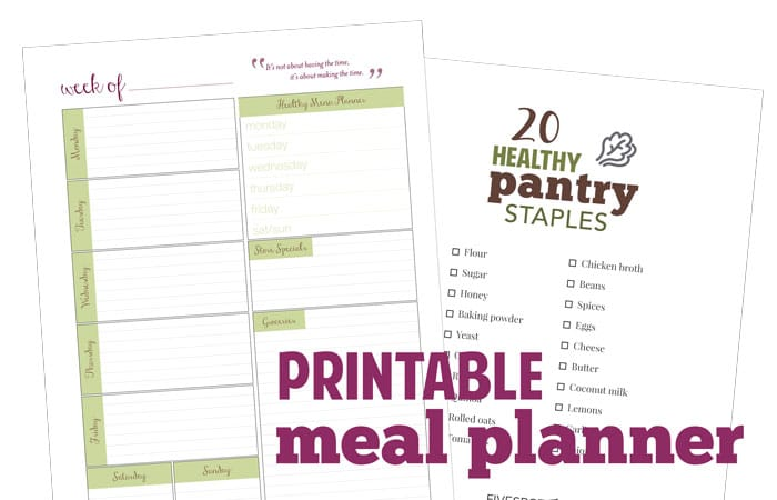 printable-weekly-menu-planner-700px-1 Easy Weeknight Dinners Volume 32