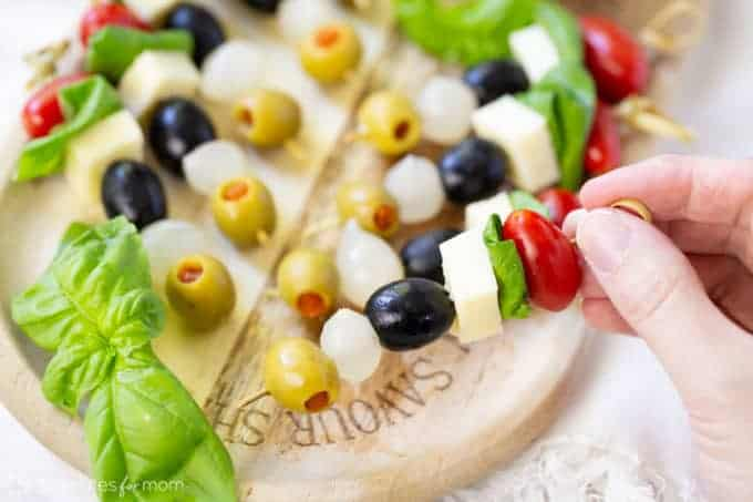 Olives-from-Spain-skewers-3226-680x453-1 50 Mostly-Healthy Easy Big Game Appetizers