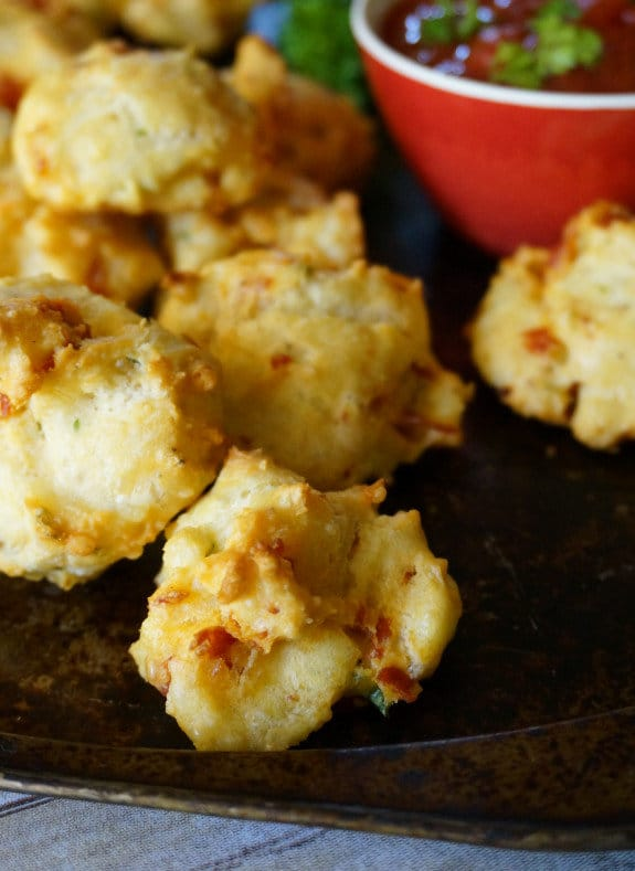 PepperoniCheesepuffslead 21 Easy and Delicious Appetizers for Kids