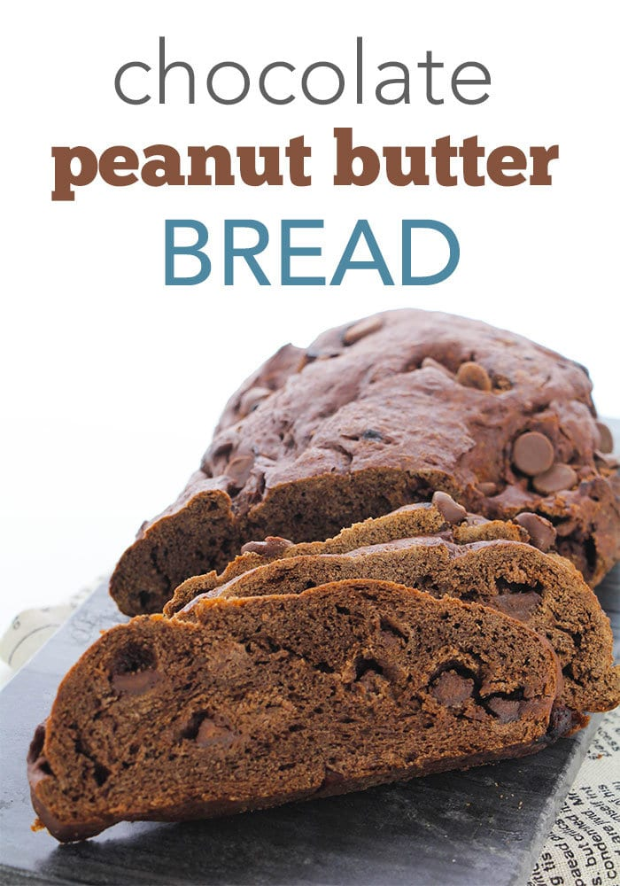 chocolate peanut butter homemade bread recipe