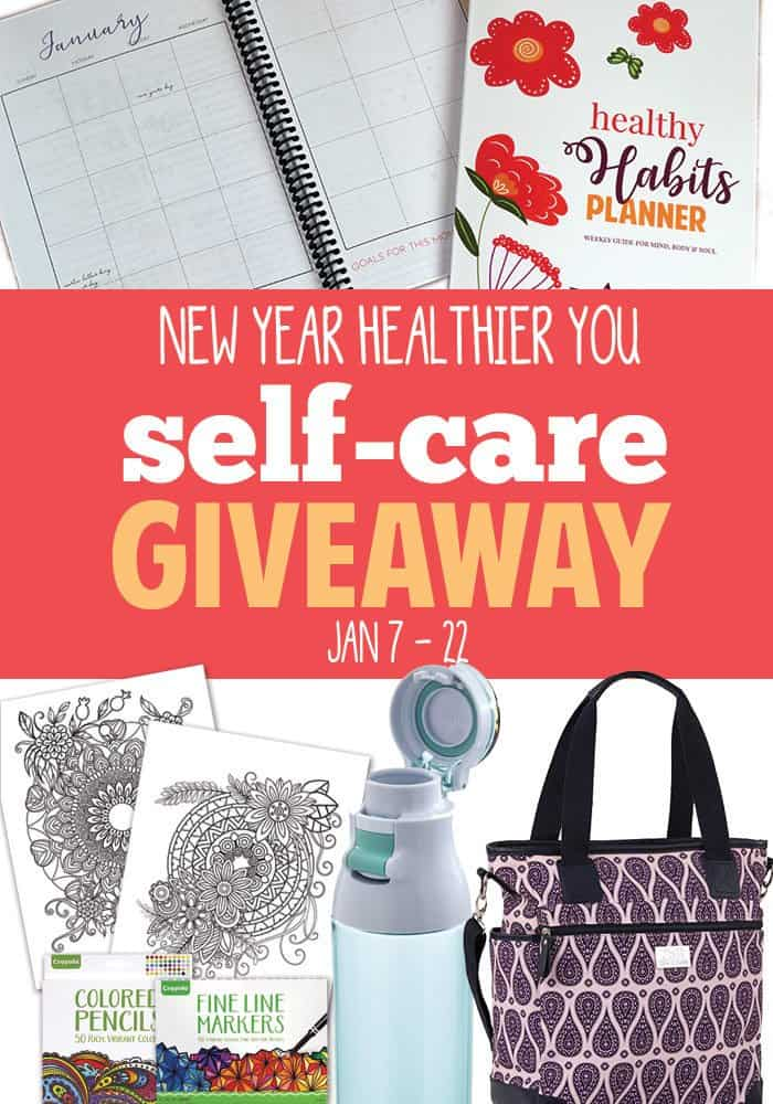 New Year Healthier You Self Care Products Giveaway