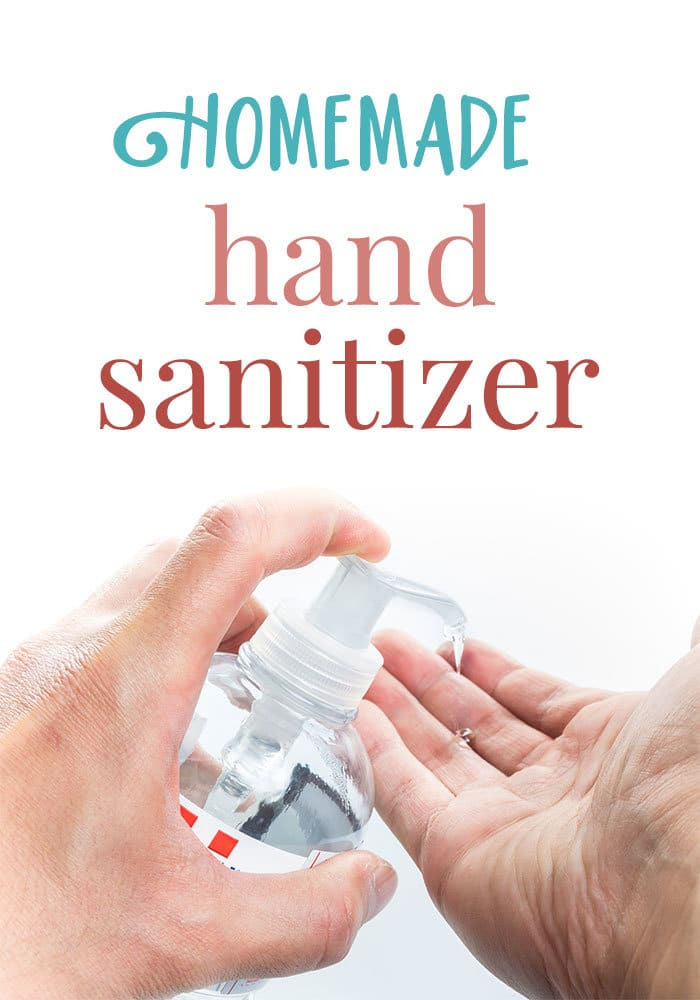 homemade tea tree oil hand sanitizer