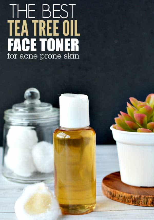 tea tree oil face toner