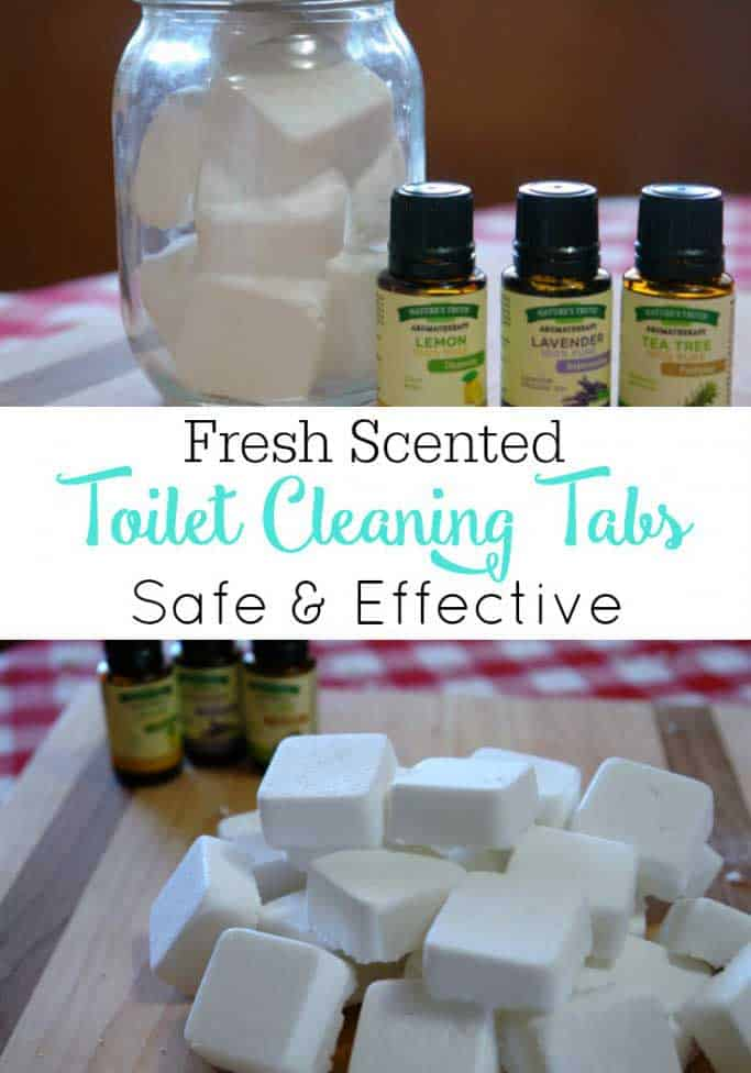 tea tree oil toilet cleaning tabs