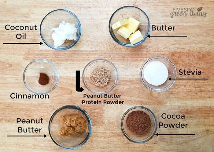 ingredients for keto fat bombs