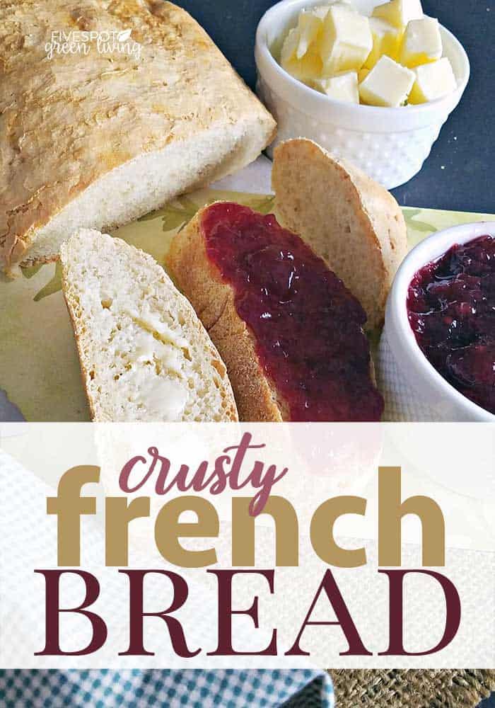 blog-crusty-french-bread-PIN Easy French Bread Recipe